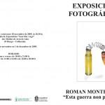 ESTA GUERRA NO PROSPERA | Roman Montesinos