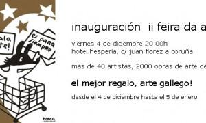 Inauguración II Feria de Arte Gallega