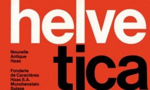 Helvetica. ¿Una nueva tipografia?