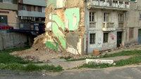 El derrumbe de la ciudad en imagenes