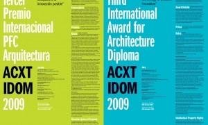 Tercer Premio Internacional ACXT IDOM 2009