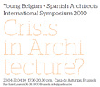 Exposición y congreso sobre Joven Arquitectura Española y Crisis en Bruselas