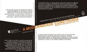 La Modernidad Construida. Arquitectura Galega 1930-1970