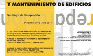 Curso Especialización en Inspección, Reparación y Mantenimiento de Edificios