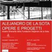 Alejandro de la Sota: Opere e Progetti