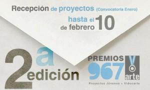 Convocado o II Premio PROXECTOS NOVOS 967arte