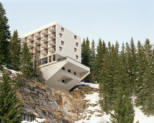 Flaine Ski Center, de Marcel Breuer