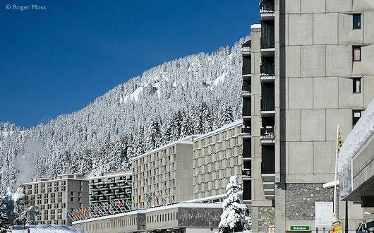 Flaine Ski Center, de Marcel Breuer   Fotografía: Roger Moss