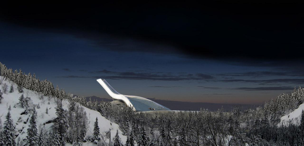 La estructura de Holmenkollen, de estudio JDS, dirigido por Julien de Smedt