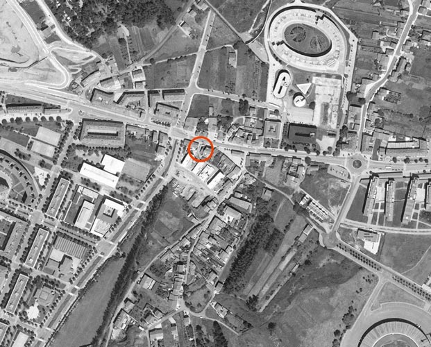 Vivienda y local comercial en santiago de compostela rvr - Arquitectos en santiago de compostela ...