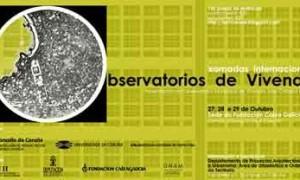 Xornadas internacionais de observatorios de vivenda
