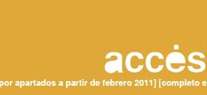 accésit changes the publication form