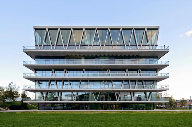 Escuela Leutschenbach en Zürich, Switzerland Christian Kerez | Fotografía: Christian Kerez