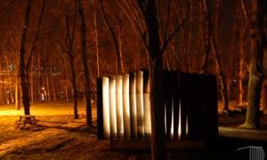 Módulo de aseos público en O Salgueiral | Muiños+Otero