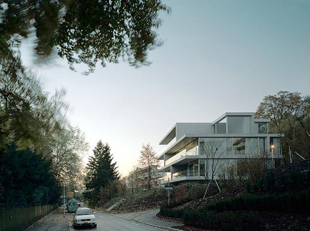 Edificio de Departamentos en Forsterstrasse, Suiza, 2003, Christian Kerez