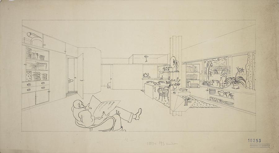 Maisons Loucheur, Le Corbusier, 1929 © FLCADAGP