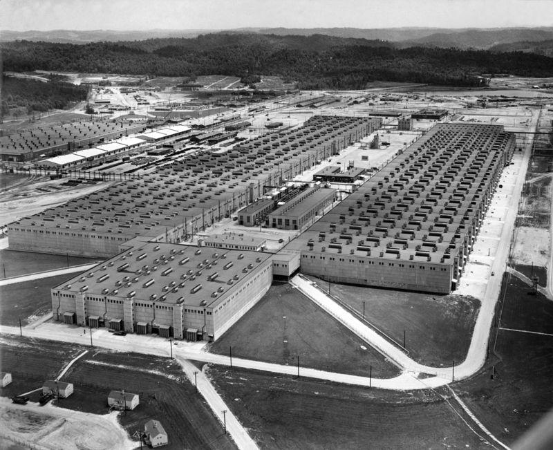 Oak Ridge en Estados Unidos en 1942