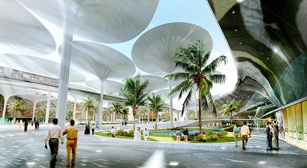 Masdar, diseñada por Foster y Partners