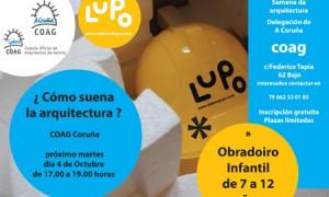 TALLER INFANTIL DE ARQUITECTURA:¿Cómo suena la arquitectura?