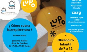 OBRADORIO INFANTIL DE ARQUITECTURA:¿Cómo sona a arquitectura?