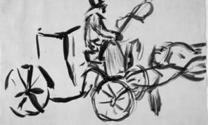 Matisse o debuxante