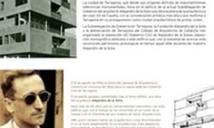 El gobierno civil de Tarragona. Alejandro de la Sota