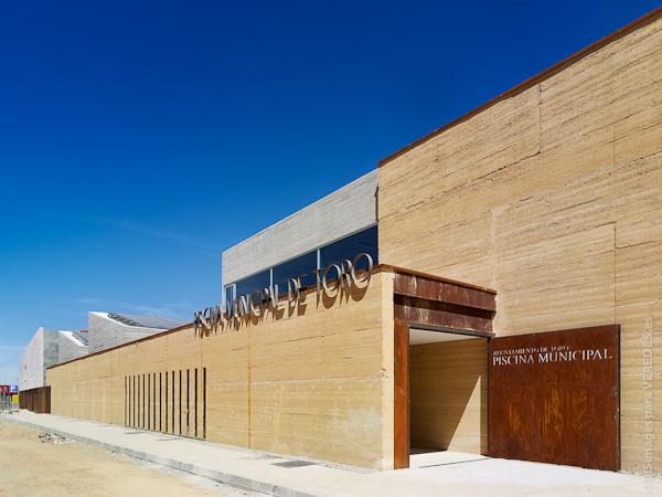 Piscina municipal de toro vier arquitectos for Piscina municipal