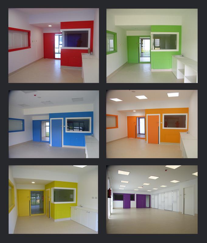 Galescola de 5 unidades en cotobade xl arquitectos for Aulas web arquitectura