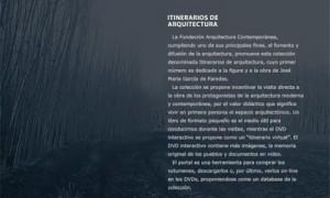 Itinerarios de Arquitectura [Collection]