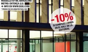 Semana de portas abertas na sé da Editorial Gustavo Gili