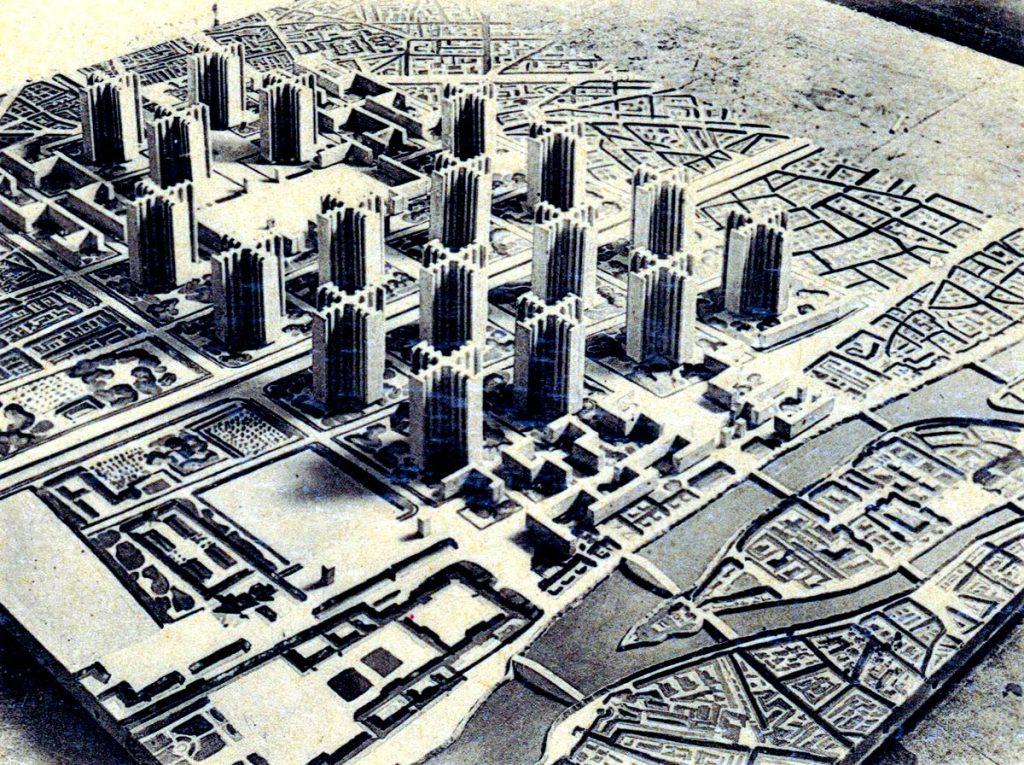 Plan Voisin de Le Corbusier