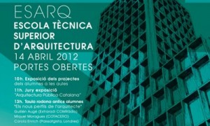 Open day in the ESARQ-UIC