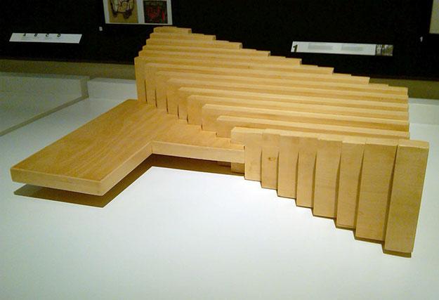 'un desafío a la arquitectura moderna' en la sala de la fundación ICO