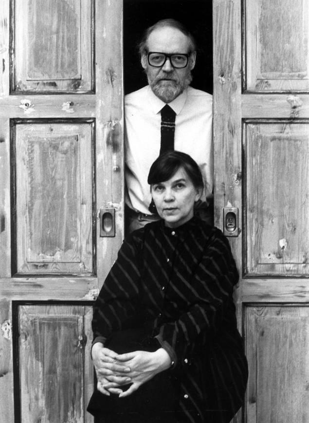Reima Pietilä con su esposa Raili, con quien hizo casi todas sus obras. Foto: MFA