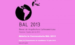 BAL 2013. Convocatoria