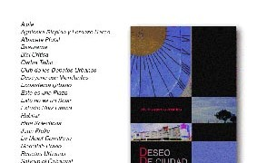 """Presentation of the book  """"Deseo de Ciudad"""""""