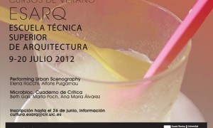 Cursos de Verán 2012, ESARQ-UIC