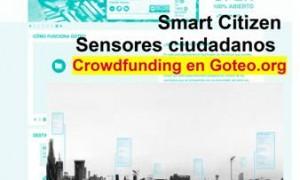 Smart Citizen. Sensores ciudadanos