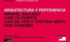 Arquitectura y Territorio Rural 2012