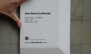 Concurso para el diseño de una placa informativa DOCOMOMO [fallo]
