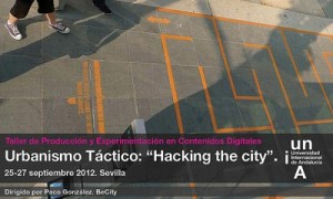 "Taller de Urbanismo táctico: ""Hacking the City"""