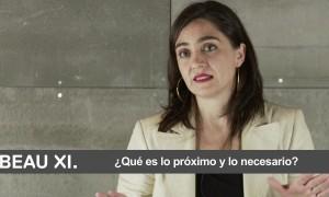Videoentrevista Belinda Tato | XI BEAU