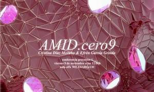 Conferencia AMID cero 9 en la ESARQ-UIC