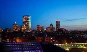 Boston Skyline Timelaspe