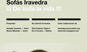 intemción. Projection of the short film: Sofás Iravedra ¡¡¡De toda la vida!!!