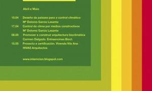 Ciclo de Arquitectura Bioclimática · Programa Cultural intemción 2013
