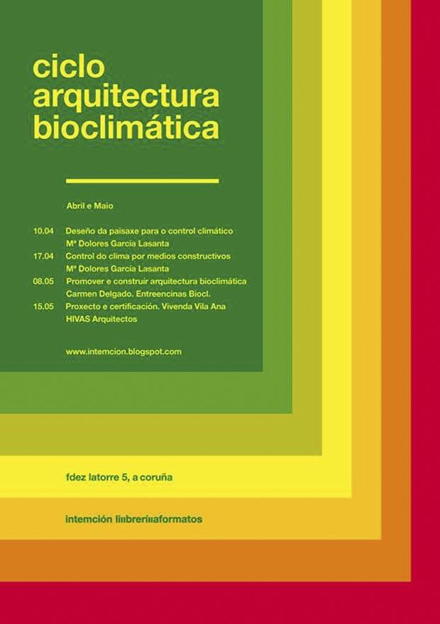 Ciclo de arquitectura bioclim tica programa cultural - Arquitectura bioclimatica ejemplos ...