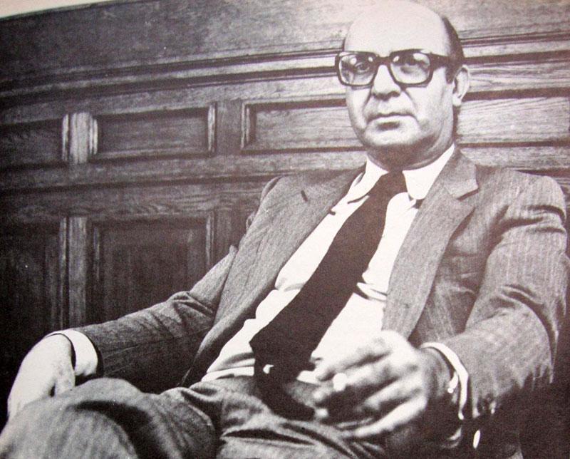 Clorindo Testa (1923), arquitecto nacido en Italia y radicado en Argentina. Uno de los representantes de la corriente brutalista en la década de 1960