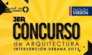 Concurso de Arquitectura Intervención Urbana 2013