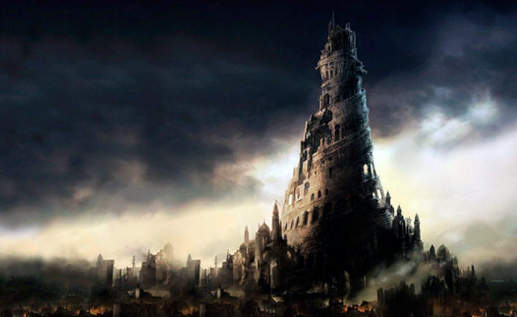 Visión distópica de la Torre de Babel del juegoPrince of Persia